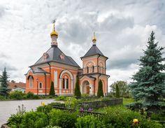 Храм в честь Преображения Господня. (Россия, Optina Pustyn')