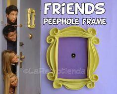 FRIENDS TV SHOW, YELLOW PEEPHOLE FRAME MONICA'S DOOR F•R•I•E•N•D•S GREAT REPLICA | Home & Garden, Home Décor, Frames | eBay!