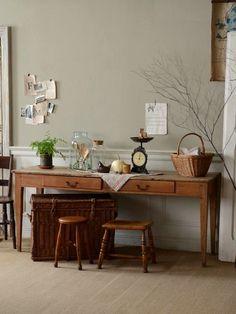 活用方法は様々なオーク材アンティークテーブル。1900年頃フランスのものです。
