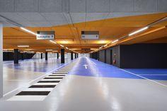 Herzstück - Farbiges Parkhaus in Utrecht