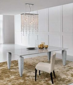 30 Modern Dining Tables for a Wonderful Dining Experience Contemporary Dining Table, Dining Table Design, Contemporary Furniture, Dining Chairs, Dining Room, Dining Sets, Balkon Design, Italian Furniture, Sofa