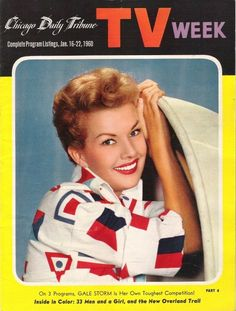 """Gale Storm from 1950's """"My Little Margie""""."""