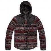 Moncler W Tenzam Fairisle Down Jacket