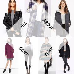 The Ultimate Guide to Fall Coats * As seen on Cocobelles.ca! Fall Coats, Plaid Coat, Must Haves, Autumn Fashion, Leather Jacket, Jackets, Studded Leather Jacket, Down Jackets, Fall Fashion