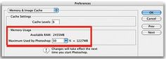 Optimizing Photoshop CS2 | Macworld