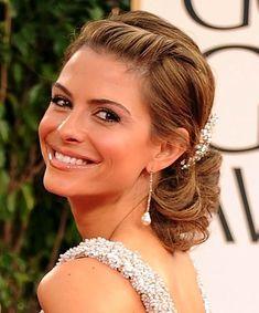 Maria Menounos Hairstyles: Gorgeous Updo