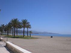 Malaga Beach. I lived here in 1983-1984