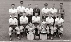 League Champions and FA Cup Winners 1960/1961- legends making history