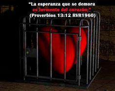 Proverbios 13:12 Que tus expectativas estén en el Señor y no en el hombre
