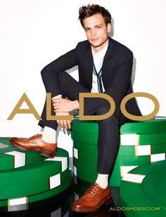 Matthew Gray Gubler for Aldo.