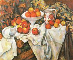 Paul Cézanne - Apples and oranges, 1895-1900, oil on canvas