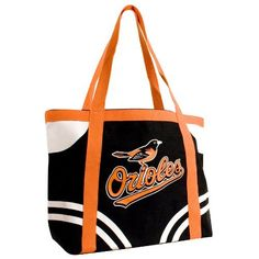 "MLB Baltimore Orioles Canvas Tailgate Tote by Pro-FAN-ity by Littlearth. $11.87. Features Over-Sized Team Logo. Machine Washable. Officially Licensed. Large Interior Zipper Pocket. 14 oz Knit Cotton Canvas. 100% Cotton. Littlearth's Officially Licensed Canvas Tailgate Tote is great at the beach, on day trips or a quick weekend bag! Measuring 15.5"" Length x 6"" Width x 13.5"" Height this large heavy tote is the perfect bag for your tailgating party. Made of 100% Cotton this..."