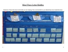 This will be great for my kindergartners when I introduce a new letter!