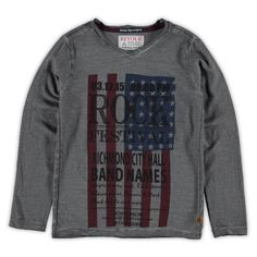 Retour T-shirt lange mouw | Winter collectie | kleertjes.com #Newyork #fashion…