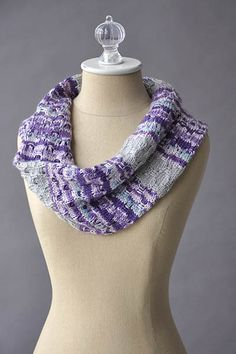 Free Knitting Pattern for the Together Cowl.