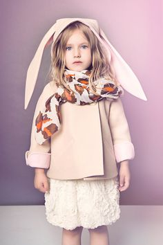 Luxe Bunny Coat by littlegoodall on Etsy