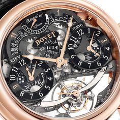 BOVET 1822 Récital 16 Collection Dimier 7-Day Tourbillon with Triple Time Zone Tourbillon Calibre Rising Star II Spécialité Horlogère Dimier 1738 (See more at En/Es: http://watchmobile7.com/articles/bovet-recital-16) (3/5) #watches #relojes #bovet #bovet1822
