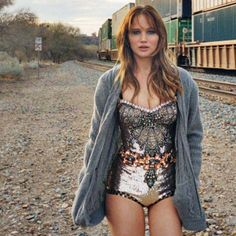 Jennifer Lawrence by Theo Wenner for Rolling Stone, April 2012