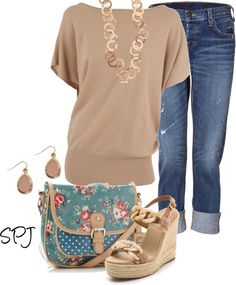 """""""Taupe"""" by s-p-j ❤ liked on Polyvore"""