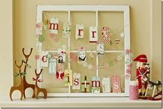 Without the christmas theme, this could b cute for wedding