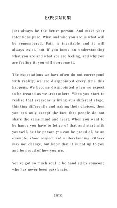 Expectations strongquotes inspirationalquotes strengthquotes motivationquotes positivequotes independentquotes affirmingquotes lifequotes risingquotes is part of Words quotes - Motivacional Quotes, Words Quotes, Wise Words, Sayings, Qoutes, Pretty Words, Beautiful Words, Cool Words, Positive Vibes