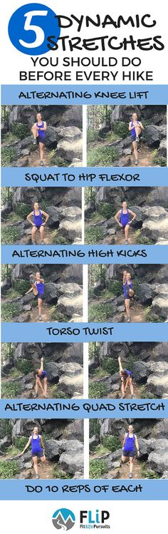 5 Dynamic Stretches for Hiking