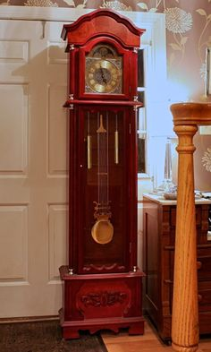 New uses for a grandfather clock!