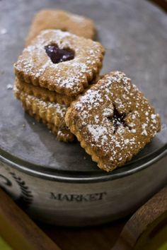 The Cooking Doctor: Fabulous Food Fotography Friday & Whole Wheat Linzer Cookies