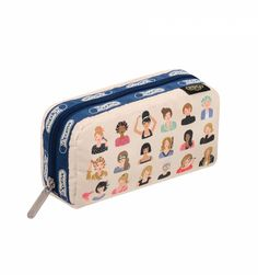"""hello, gorgeous"" Rectangular Cosmetic Bag by LeSportsac at Rifle Paper Co., $25"