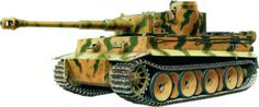 German Tiger I tank