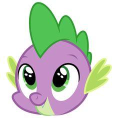 Excited Spike by on DeviantArt Festa Do My Little Pony, My Little Pony Birthday, My Lil Pony, Princesa Celestia, Rainbow Drawing, Little Poni, Equestrian Girls, Kids Stool, Baby Dragon