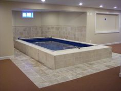 Swim Spa Photo Gallery Two In One Lap Pool And Hot Tub