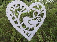 Sample from papercutting workshop.
