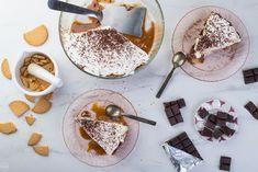 Σοκολατένιο Banoffee, σκέτος πειρασμός - madameginger.com Banoffee, Panna Cotta, Oven, Sugar, Cookies, Sweet, Ethnic Recipes, Desserts, Food