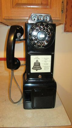 Automatic Electric Pay Telephone of the 1960's