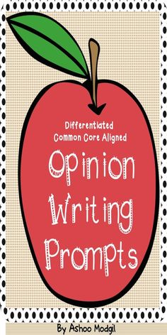 These Opinion Writing Prompts are FUN and ENGAGING journal prompts to keep kids motivated to write.  It includes the following prompts in two types of handwriting paper: 1. I like apples because... 2. I do not like apples because... 3. I like pears because... 4. I do not like pears because... I brainstorm to check how many kids like or do not like apples and pears and distribute the related writing templates.