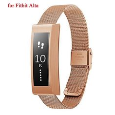 Fitbit Alta Rose Gold Replacement Band from TreasureMax