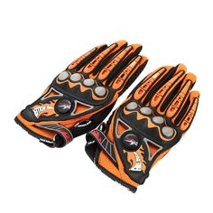(7.62$)  Buy here  - Pro-biker Full Finger Motorcycle Cycling Racing Riding Protective Gloves M L XL-TOMTOP
