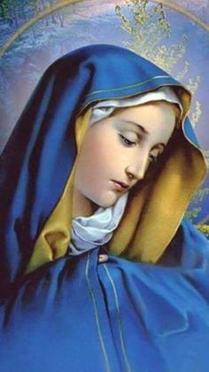 Blessed Mother Mary, Blessed Virgin Mary, Catholic Prayers, Catholic Saints, Images Of Mary, Religious Pictures, Bride Of Christ, Holy Mary, Jesus On The Cross