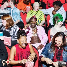 "#Topic ""Teenage Emotions"" Lil Yachty's New Album Cover"