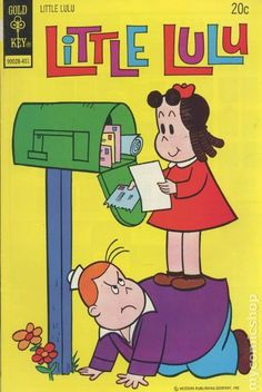 Little Lulu #216 - Published January 1974 by Dell/Gold Key.