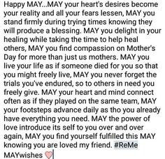 Happy May! My MAY wishes for us all ❤ stay encouraged Happy May, New Month, A Blessing, Compassion, Wish, Prayers, Encouragement, Blessed, Lord