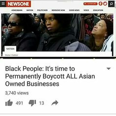 Boiling points @Regrann from @chididdy26 -  @Regrann from @stampedncertified4 -  It's past time that black people begin to wield and use the power we have.  Not only should we use our economic power to collectively better ourselves.. we should also use it as a consequence if a segment of our collective is mistreated! . .  Respect is earned.. if a dipolmat were to slap the secretary of state prince parliamentary figure etc.. there would not only be consequences for that individual there would…