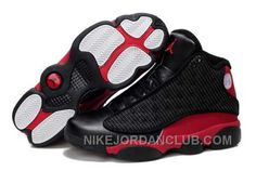 http://www.nikejordanclub.com/nike-air-jordan-13-mens-grain-leather-black-red-shoes-8khd5.html NIKE AIR JORDAN 13 MENS GRAIN LEATHER BLACK RED SHOES ES84X Only $84.00 , Free Shipping!