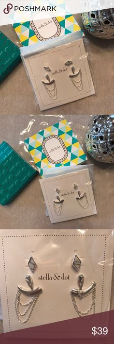 Stella & Dot Drape Earrings! Stella & Dot Drape Earrings! Stella & Dot Jewelry Earrings