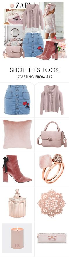 """""""Some pink for this fall"""" by moni4e ❤ liked on Polyvore featuring McGinn, Free People, Miu Miu, Tom Dixon, Robert Clergerie, Michael Kors, Saks Fifth Avenue and Ted Baker"""