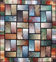 Stepping Stones ~ Quiltworx.com, by Certified Instructor, Shirley Scott