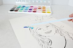 Simple Watercolor Kids Craft   Live Randomly Simple