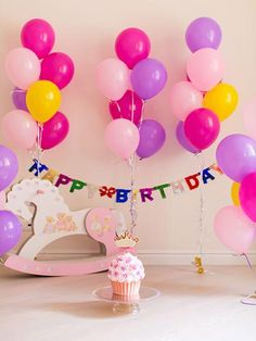 Zhy Girls 18th Birthday Backdrop 7x5ft Polyester Fabric 18th Birthday Photos Background Glitters Photos Princess 18th Birthday Party Decoration Birthday Bash Background Studio Props