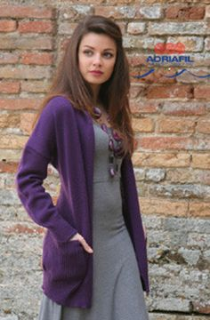 Flora Cardigan in Adriafil Avantgarde- Downloadable PDF. Discover more patterns by Adriafil at LoveKnitting. We stock patterns, yarn, needles and books from all of your favourite brands.